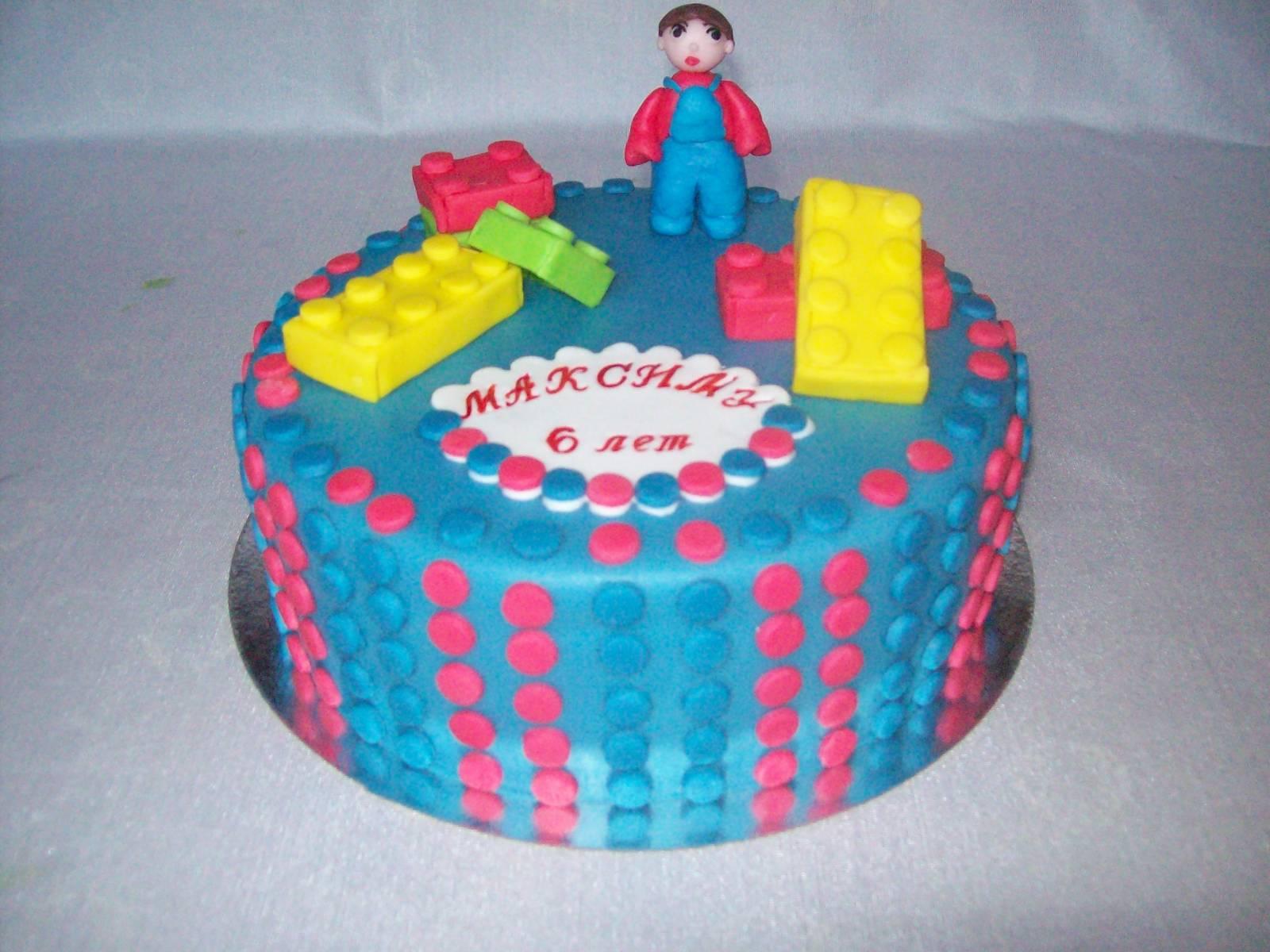 Торт Лего Ниндзяго из мастики 72